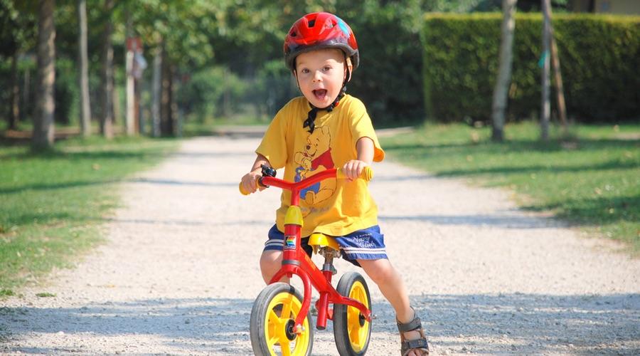 Fahrradhelm ist Pflicht - für Kinder und Eltern
