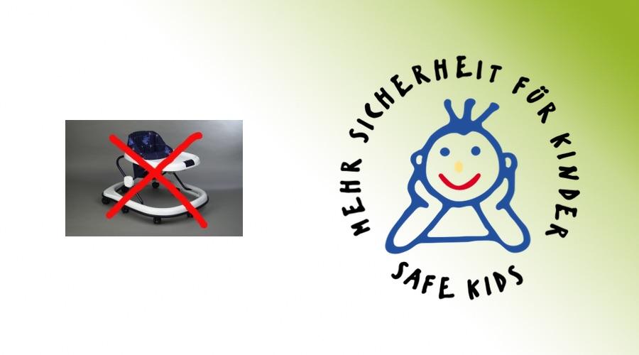 Gefährliche Lauflernhilfen für Babys